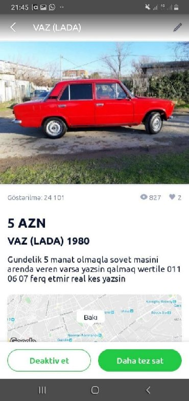 Ayfon müqabilində ilə 4 - Azərbaycan: Il ferq etmir