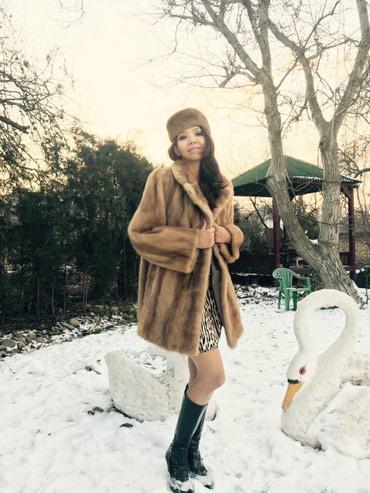шикарная норковая шуба в Кыргызстан: Норковая шуба из Германии, состояние отличное, шикарный цвет