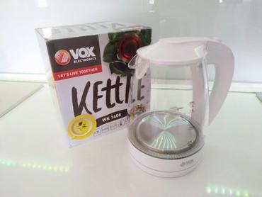 Ketler ( bokal ) VOX .Kvalitetan i moderan,svetli led plavo kada se