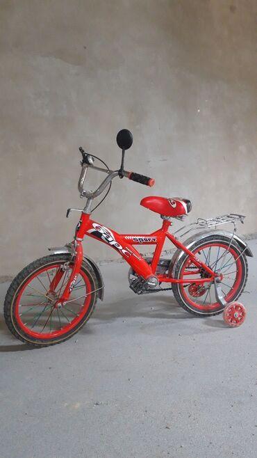 Спорт и хобби - Каракол: Детский велосипед на 5-9 лет, в отличном состоянии. Торг