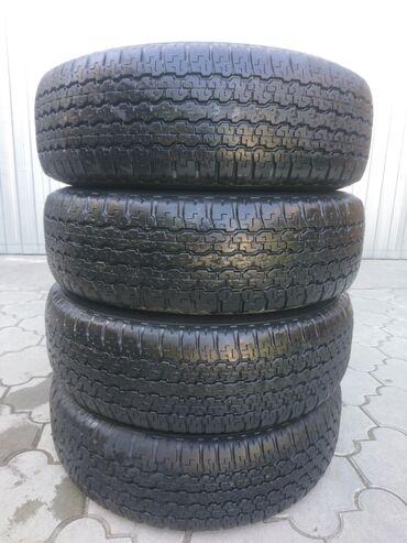 Транспорт - Корумду: Продаю шины Япония,фирма Bridgestone Dueler, всесезонка,остаток