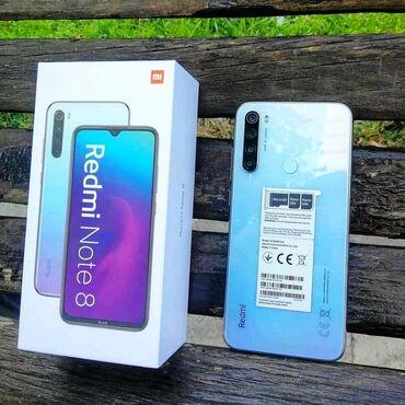 xiaomi mi 8 цена в бишкеке в Кыргызстан: Новый Xiaomi Redmi Note 8 64 ГБ Голубой