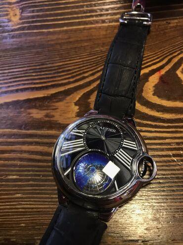 Gümüşü Kişi Qol saatları Cartier