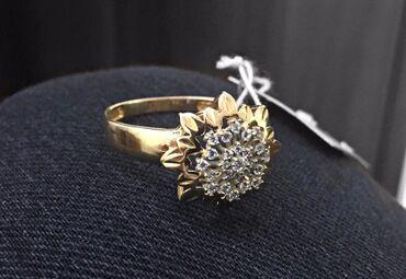 sergi iz zolota 375 proby в Кыргызстан: Золотое кольцо 19.5 размер 375 проба
