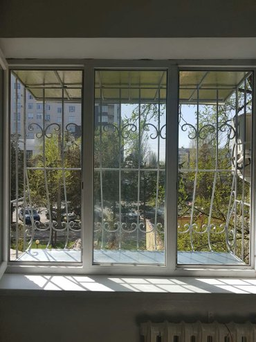 профессиональный монтаж и в Кыргызстан: Решётки на окна любой конфигурации и сложности, ворота, перила
