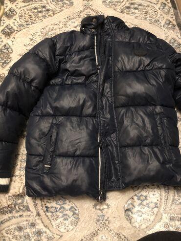 Детская мужская куртка Зимняя Для мальчиков 8-11 лет