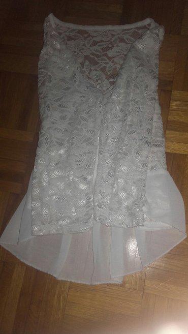Bela cipkana bluzica - Kragujevac