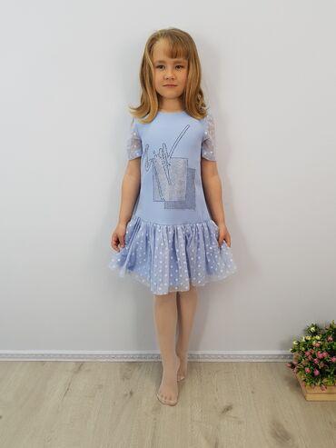 платья для кормящих мам бишкек в Кыргызстан: Нарядное платье для девочки артикул: 19-10размеры: 134, 140, 146