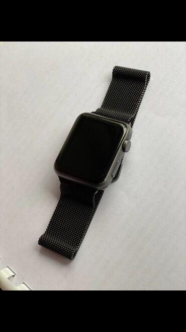 телефоны и аксессуары в Кыргызстан: Продаю Apple Watch 1 series 42мм состояние как на фото. комплект тол