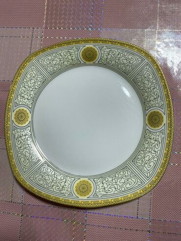 today набор в Кыргызстан: Тарелки диаметр 19-20 см состояние отличное. Набор из 12 шт
