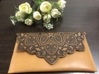 сумка клатч ручной работы в Кыргызстан: Клатч ручная работа 1500 сом экокожа