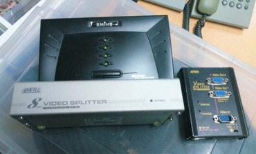 кабели синхронизации thunderbolt 2 male в Кыргызстан: Продаю VGA сплиттеры. 2 штуки на 8 портов (по 800 сом за штуку