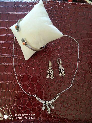 sergi 925 в Кыргызстан: Продаю серебряный украшения в национальном стиле. 925 пробы. Колье и