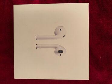 Продаю Apple Airpods 2 (оригинал) с обычным кейсом