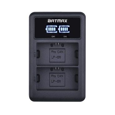 BATMAX LC-E6 LCD Dual USB Battery ChargerXüsusiyyətləri: Uyğunluq -