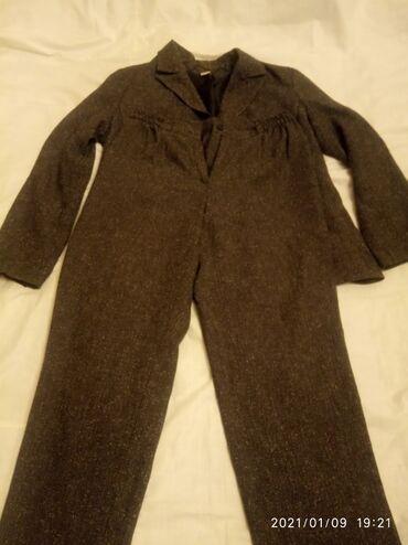 Брючный костюм размер 46 48 цена 300 сом