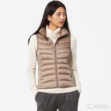 теплые платья для полных в Кыргызстан: Продаю новую жилетку, очень тёплая, био-пух, размер 42-44 (S-М), можно
