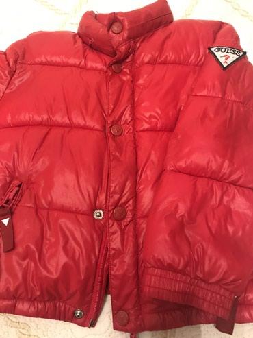 Bakı şəhərində Куртка детская на 4года,в идеальном