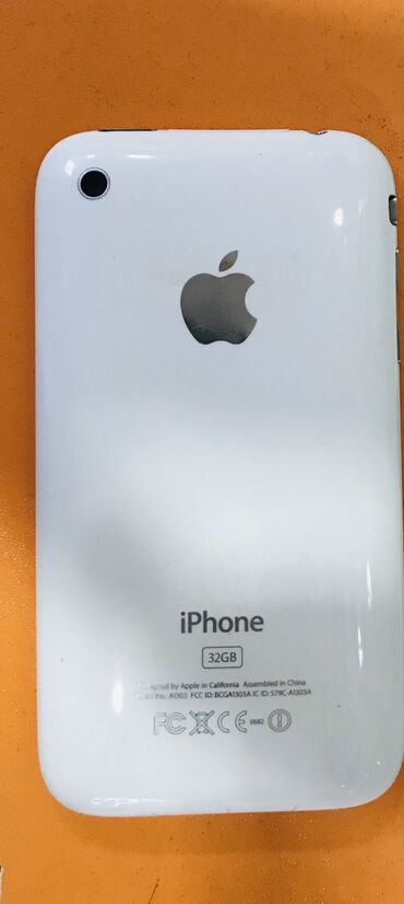 Alfa romeo 147 32 mt - Azərbaycan: İşlənmiş iPhone 3G 32 GB Ağ