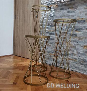 Ostalo - Beograd: Stalci za dekoraciju. Izrada po vašoj želji i meri