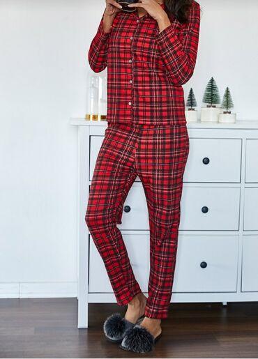 pijama - Azərbaycan: Gözəl qırmızı pijama