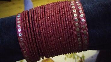 - Azərbaycan: Hind golbaglari. 25 eded. Розовые индийские браслеты 25 штук