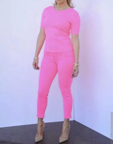 ярко розового цвета в Кыргызстан: Женские брюки Zara