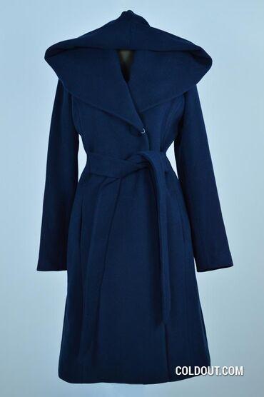Пальто кашемировое, зимнее утепленное, производство Турция. Состояние