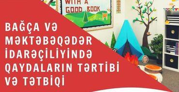 """adlı - Azərbaycan: """"Bagca idareçiliyi ve metodistlik""""ve """"Bagca kurriklumunun tətbiqində"""