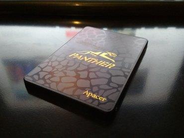 Продаю SSD 120 gb PANTHER от брэнда APACER. В хорошем состоянии. в Бишкек
