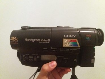 SONY Handycam Video 8. CCD-TR490E Video Camera. Состояние в Бишкек