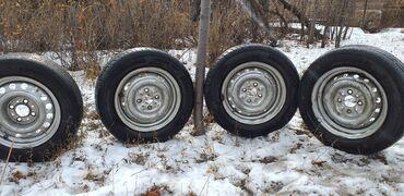 17570 r13 диски в Кыргызстан: Диски R13 Гольф пасат лада с резиной, летняя в нормальном состоянии