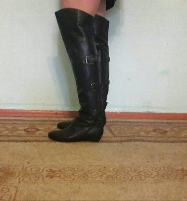 Ботфорты кожа staccato Англия размер 38 в Бишкек