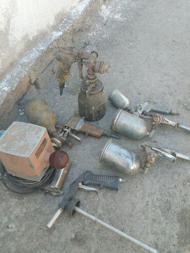 веритас швейная машинка в Кыргызстан: Краскопульты разные  И шлифовальная машинка ссср