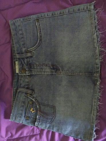Suknjica jeans - Srbija: Zenska suknjica C.O.A.X.JEANS, velicina M odlicno ocuvana, materijal