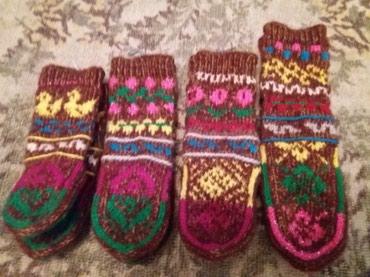 Продаю теплые вязаные носочки с в Бишкек