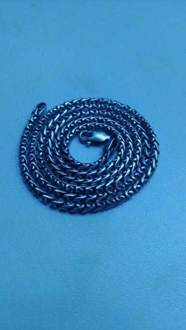 улай маркет бишкек в Кыргызстан: Цепочка серебро длина 50 см, вес 20 грамм, плетение литое