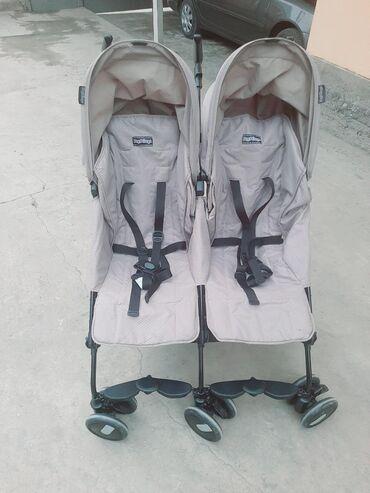 sagem myx 1 twin в Кыргызстан: Коляска для двойни peg perego mini twin Почти новая.Очень удобная