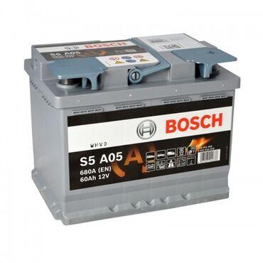 литиевые аккумуляторы бишкек in Кыргызстан | АВТОЗАПЧАСТИ: Bosch agm аккумулятор аккумуляторыпремиум класса доставка только