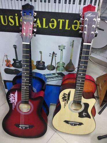 Гитары - Азербайджан: Gitara və Gitaralar Yeni model KeyfiyyətliAkustik və klassik formada