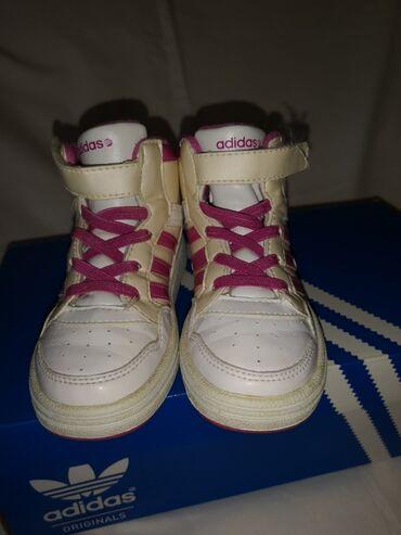 Dečije Cipele i Čizme - Crvenka: Adidas duboke patike br. 25 1/5,ug 15 cm. U odličnom stanju