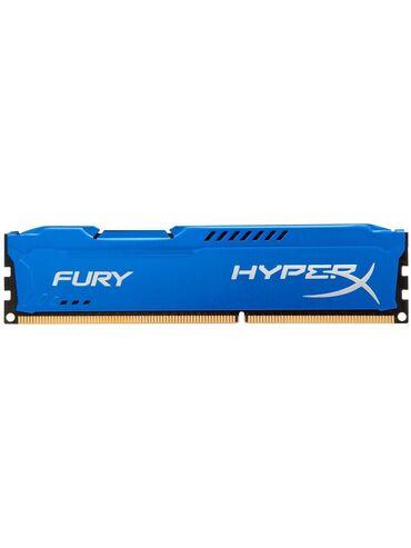 Электроника - Лебединовка: Оперативная память (озу) HyperX Fury Blue Kingston DDR3 8Gb 1333MHz