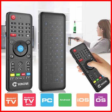 Branje malina - Srbija: Air Mouse Daljinski za Smart TV / PC / Android TV BoxProdajem H1 Plus