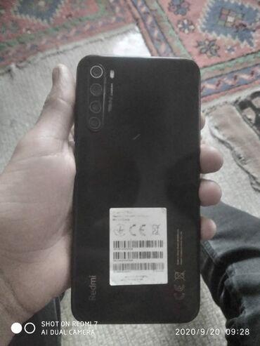 barter telefon - Azərbaycan: İşlənmiş Xiaomi Redmi Note 8 64 GB qara