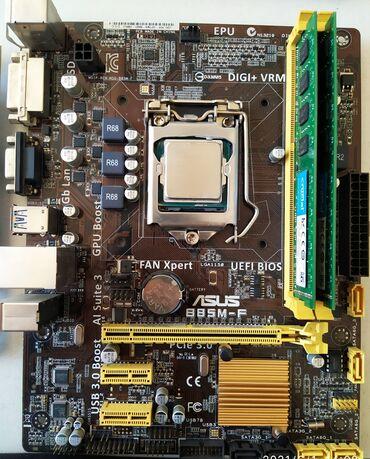 Продаю комплект на 1150 сокете.Процессор i3 4160Материнская плата Asus