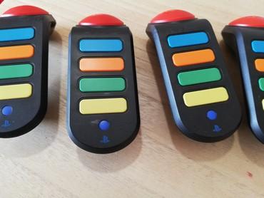 Buzz για PlayStation 3 μαζί με 4 buzz buzzers ελάχιστα χρησιμοποιημενο