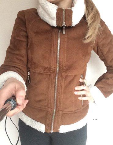 Куртка на весну - осень. сделана под дубленочку. покупали в фирменном