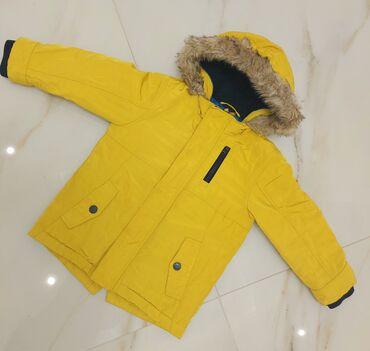 1510 elan   UŞAQ DÜNYASI: Зимняя курточка для мальчика б/у На рост 104 см, 3-4 года Как новая