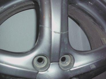 диски субару в Кыргызстан: Диск  на субару R-17 лопнутый луч на запаску 1500cом