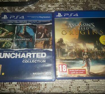 Assassin's Creed: Origins ve Uncharted Collectıon 2 si biryerde -